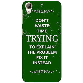 Jugaaduu SUITS Quotes Back Cover Case For HTC Desire 626 - J920487