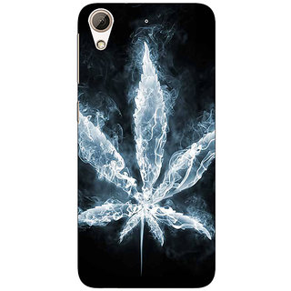 Jugaaduu Weed Marijuana Back Cover Case For HTC Desire 626 - J920498
