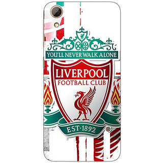 Jugaaduu Liverpool Back Cover Case For HTC Desire 626G+ - J940549