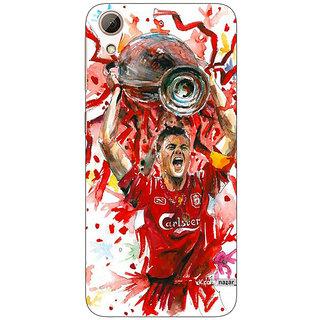 Jugaaduu Liverpool Gerrard Back Cover Case For HTC Desire 626G+ - J940550