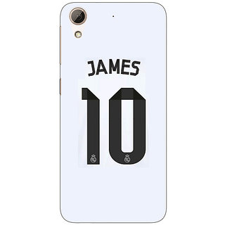 Jugaaduu Real Madrid James Rodriguez Back Cover Case For HTC Desire 626G+ - J940592