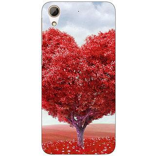 Jugaaduu Valentines Back Cover Case For HTC Desire 626G - J930734