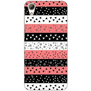Jugaaduu Tribal Pattern  Back Cover Case For HTC Desire 626G - J930774