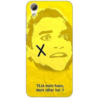 Jugaaduu Bollywood Superstar Andaz Apna Apna Teja Back Cover Case For HTC Desire 626G - J931078