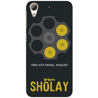 Jugaaduu Bollywood Superstar Sholay Back Cover Case For HTC Desire 626G - J931085