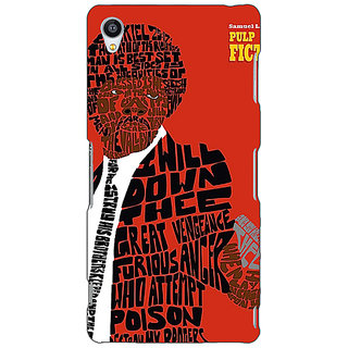 Jugaaduu Pulp Fiction Back Cover Case For Sony Xperia Z4 - J580354
