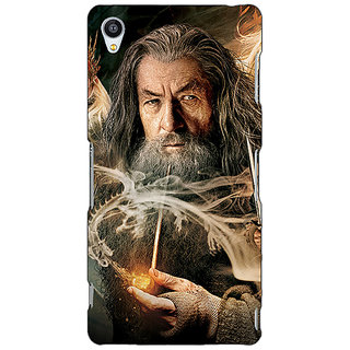 Jugaaduu LOTR Hobbit Gandalf Back Cover Case For Sony Xperia Z4 - J580358