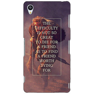 Jugaaduu LOTR Hobbit  Back Cover Case For Sony Xperia Z4 - J580367