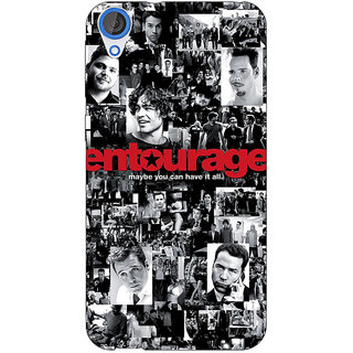 Jugaaduu Entourage Back Cover Case For HTC Desire 826 - J590438