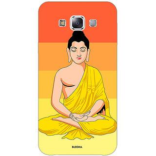 Jugaaduu Gautam Buddha Back Cover Case For Samsung Galaxy A3 - J571267