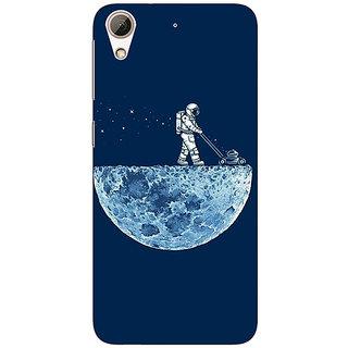 Jugaaduu Moon Walking Back Cover Case For HTC Desire 626G - J930830