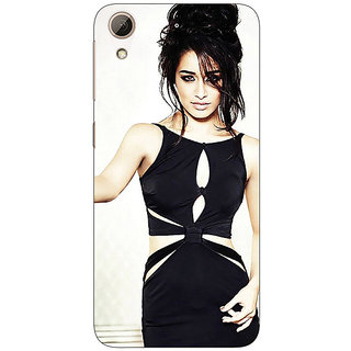Jugaaduu Bollywood Superstar Shraddha Kapoor Back Cover Case For HTC Desire 626G+ - J941018