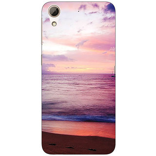 Jugaaduu Sunset At the Beach Back Cover Case For HTC Desire 626G - J931136