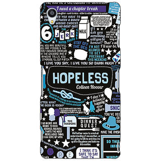 Jugaaduu TFIOS HOPELESS  Back Cover Case For Sony Xperia Z4 - J580108