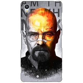 Jugaaduu Breaking Bad Heisenberg Back Cover Case For Sony Xperia Z4 - J580429