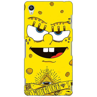 Jugaaduu Spongebob Back Cover Case For Sony Xperia Z4 - J580466