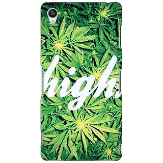 Jugaaduu Weed Marijuana Back Cover Case For Sony Xperia Z4 - J580493