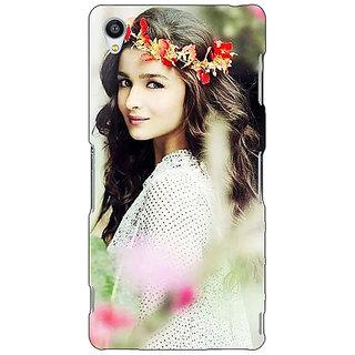 Jugaaduu Bollywood Superstar Alia Bhatt Back Cover Case For Sony Xperia Z4 - J581028