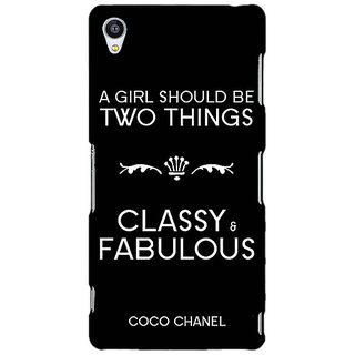 Jugaaduu COCO CHANEL Back Cover Case For Sony Xperia Z4 - J581394