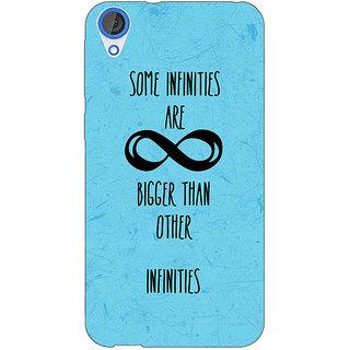 Jugaaduu TFIOS Infinities  Back Cover Case For HTC Desire 826 - J590111