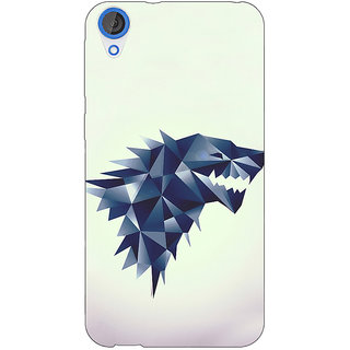 Jugaaduu Game Of Thrones GOT House Stark  Back Cover Case For HTC Desire 826 - J590129