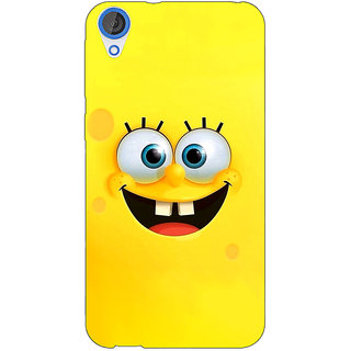 Jugaaduu Spongebob Back Cover Case For HTC Desire 826 - J590467