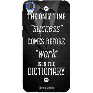 Jugaaduu SUITS Quotes Back Cover Case For HTC Desire 826 - J590476