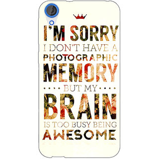 Jugaaduu SUITS Quotes Back Cover Case For HTC Desire 826 - J590481