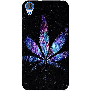 Jugaaduu Weed Marijuana Back Cover Case For HTC Desire 826 - J590494