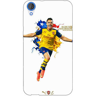 Jugaaduu Arsenal Back Cover Case For HTC Desire 826 - J590511