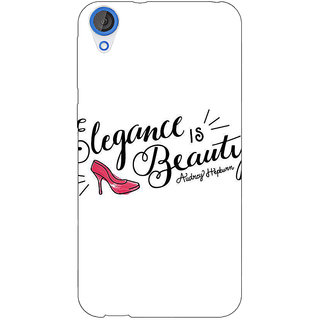 Jugaaduu Quotes Beautiful Back Cover Case For HTC Desire 826 - J591188