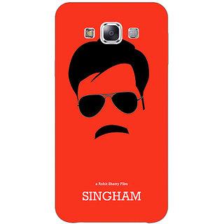 Jugaaduu Bollywood Superstar Singham Back Cover Case For Samsung Galaxy A3 - J571079