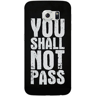 Jugaaduu LOTR Hobbit Gandalf Back Cover Case For Samsung S6 Edge - J600362