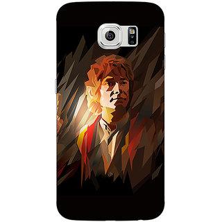 Jugaaduu LOTR Hobbit  Back Cover Case For Samsung S6 Edge - J600370