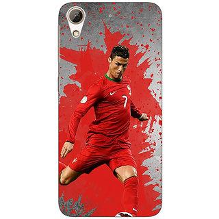 Jugaaduu Cristiano Ronaldo Portugal Back Cover Case For HTC Desire 626G+ - J940318