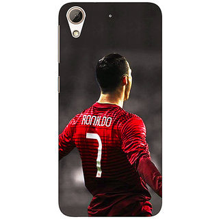 Jugaaduu Cristiano Ronaldo Portugal Back Cover Case For HTC Desire 626G+ - J940321