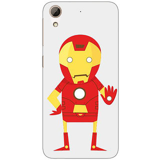 Jugaaduu Superheroes Iron Man Back Cover Case For HTC Desire 626G+ - J940329