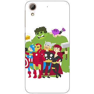 Jugaaduu Superheroes Baby Avengers Back Cover Case For HTC Desire 626G+ - J940337