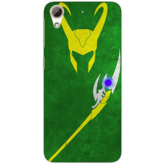 Jugaaduu Superheroes Loki Back Cover Case For HTC Desire 626G+ - J940341