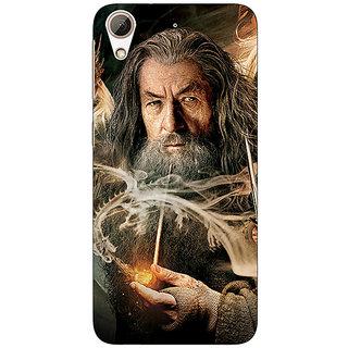 Jugaaduu LOTR Hobbit Gandalf Back Cover Case For HTC Desire 626G+ - J940358