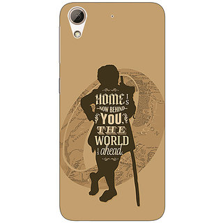 Jugaaduu LOTR Hobbit  Back Cover Case For HTC Desire 626G+ - J940368