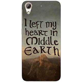 Jugaaduu LOTR Hobbit  Back Cover Case For HTC Desire 626G+ - J940377