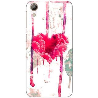 Jugaaduu Love Heart  Back Cover Case For HTC Desire 626G+ - J940707