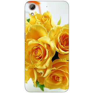 Jugaaduu Roses Back Cover Case For HTC Desire 626G+ - J940737