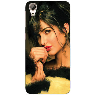 Jugaaduu Bollywood Superstar Nargis Fakhri Back Cover Case For HTC Desire 626G+ - J941057