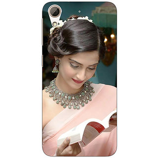 Jugaaduu Bollywood Superstar Shruti Hassan Back Cover Case For HTC Desire 626G+ - J941071