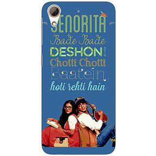 Jugaaduu Bollywood Superstar DDLJ Back Cover Case For HTC Desire 626G+ - J941097