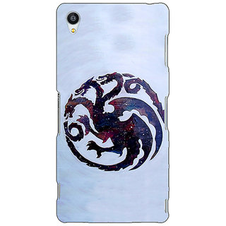 Jugaaduu Game Of Thrones GOT House Targaryen  Back Cover Case For Sony Xperia Z4 - J580152