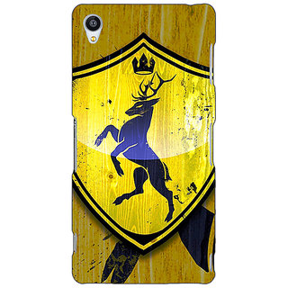 Jugaaduu Game Of Thrones GOT House Baratheon  Back Cover Case For Sony Xperia Z4 - J580167