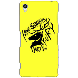 Jugaaduu Game Of Thrones GOT House Baratheon  Back Cover Case For Sony Xperia Z4 - J580168